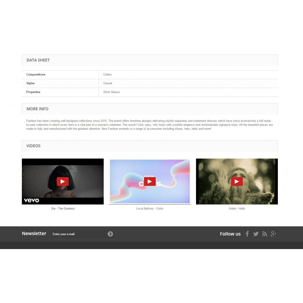 module - Videos & Musik - Product Videos Ultimate for YouTube, Vimeo, and more - 3
