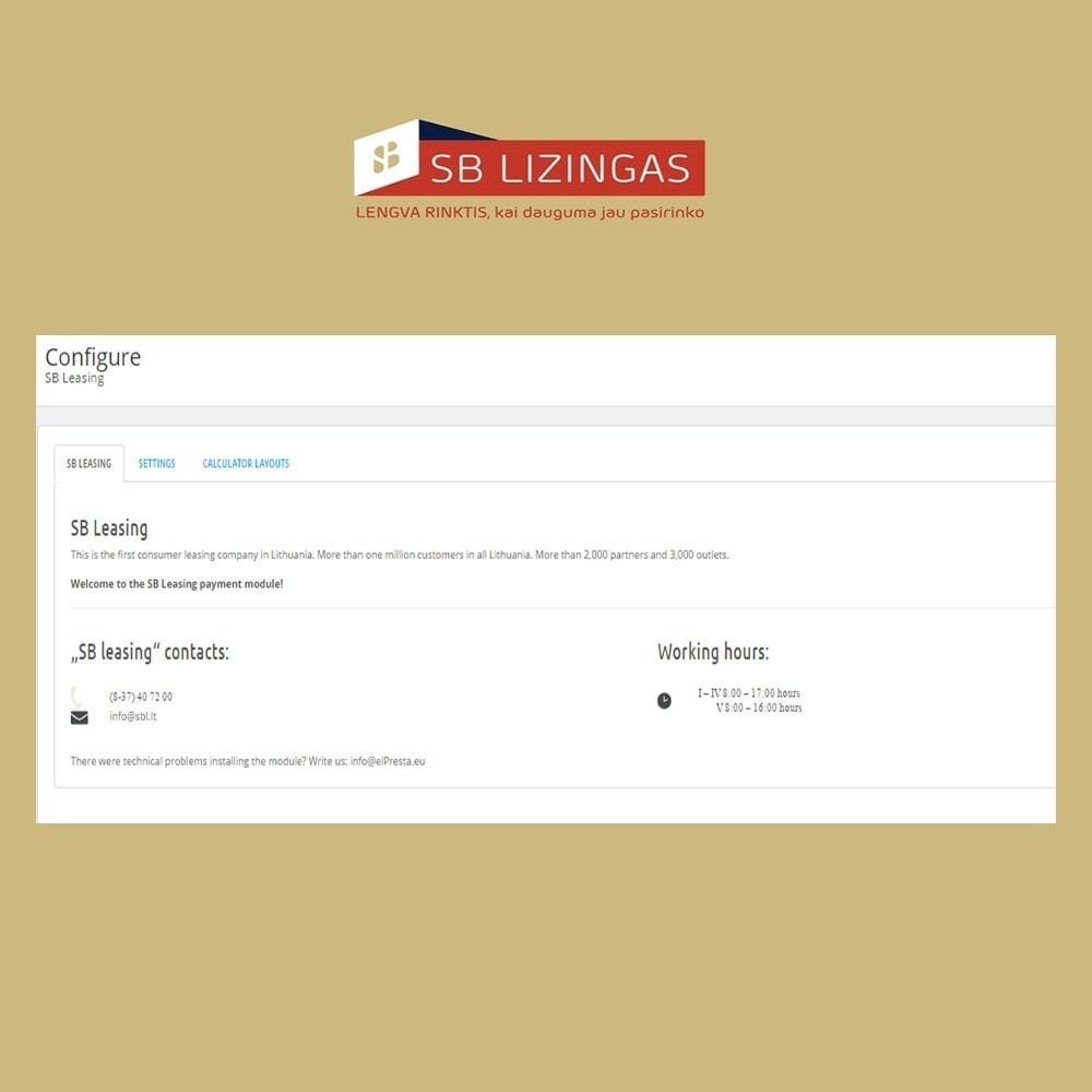 module - Other Payment Methods - SB lizingas (išsimokėtinai) - 2