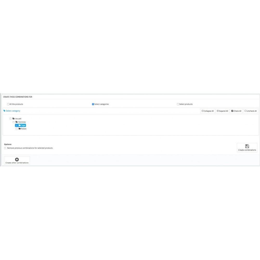 module - Быстрое & массовое редактирование - Массовое создание комбинаций - 3