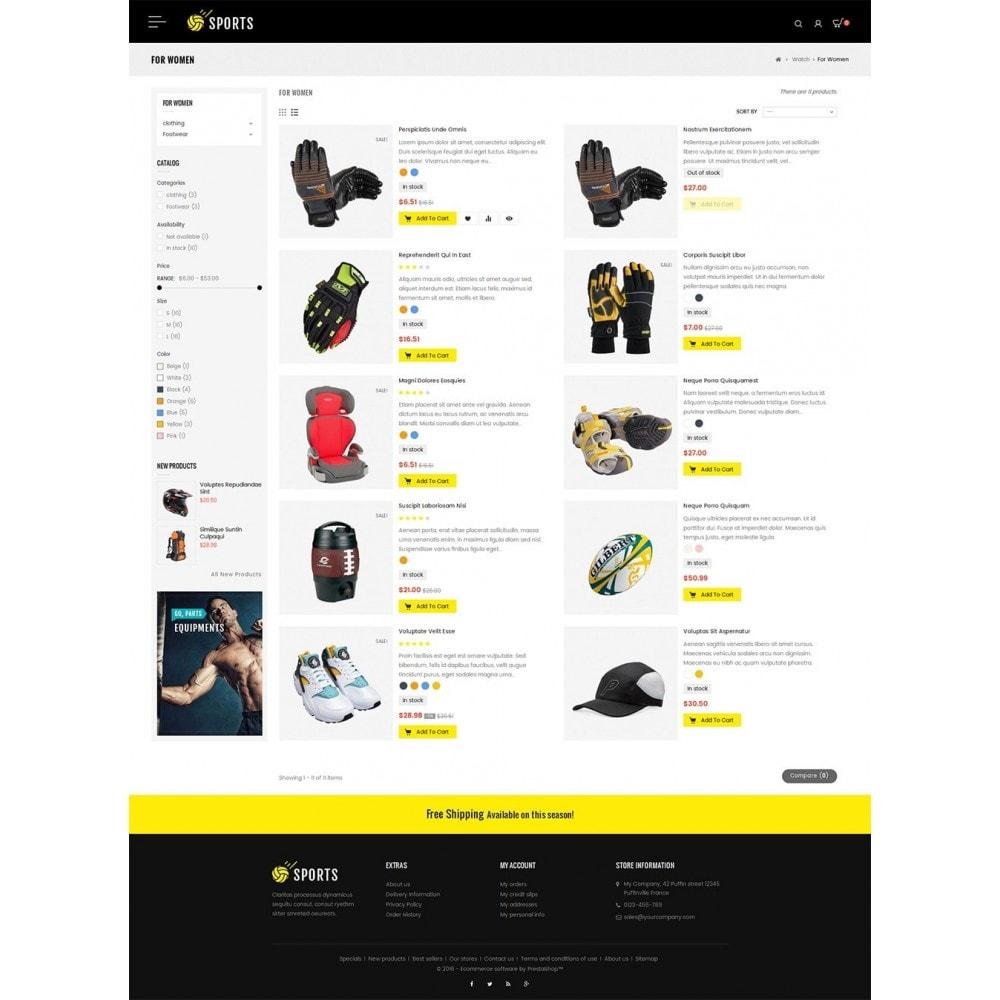 theme - Sport, Activiteiten & Reizen - Sports Store - 4