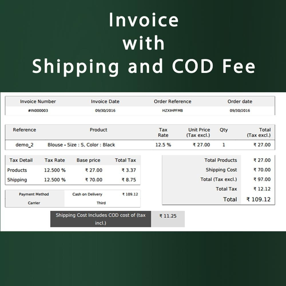 module - Cash On Delivery (COD) - Cash on Delivery COD & Shipping Fee by Zipcode, Product - 5