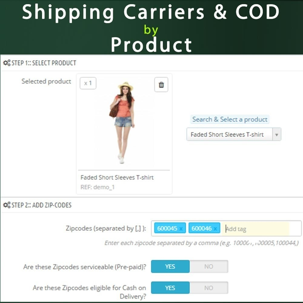 module - Zahlung per Nachnahme - Cash on Delivery COD & Shipping Fee by Zipcode, Product - 10