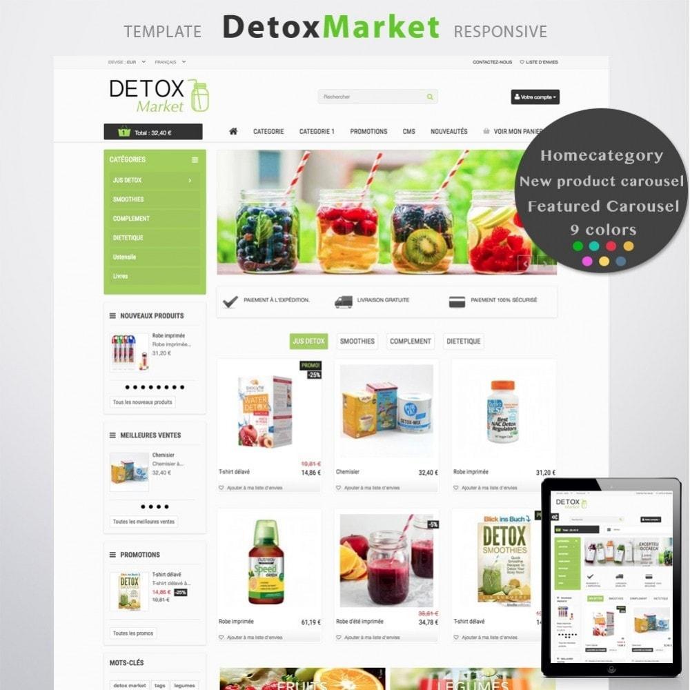 theme - Salute & Bellezza - Detox Market - 1