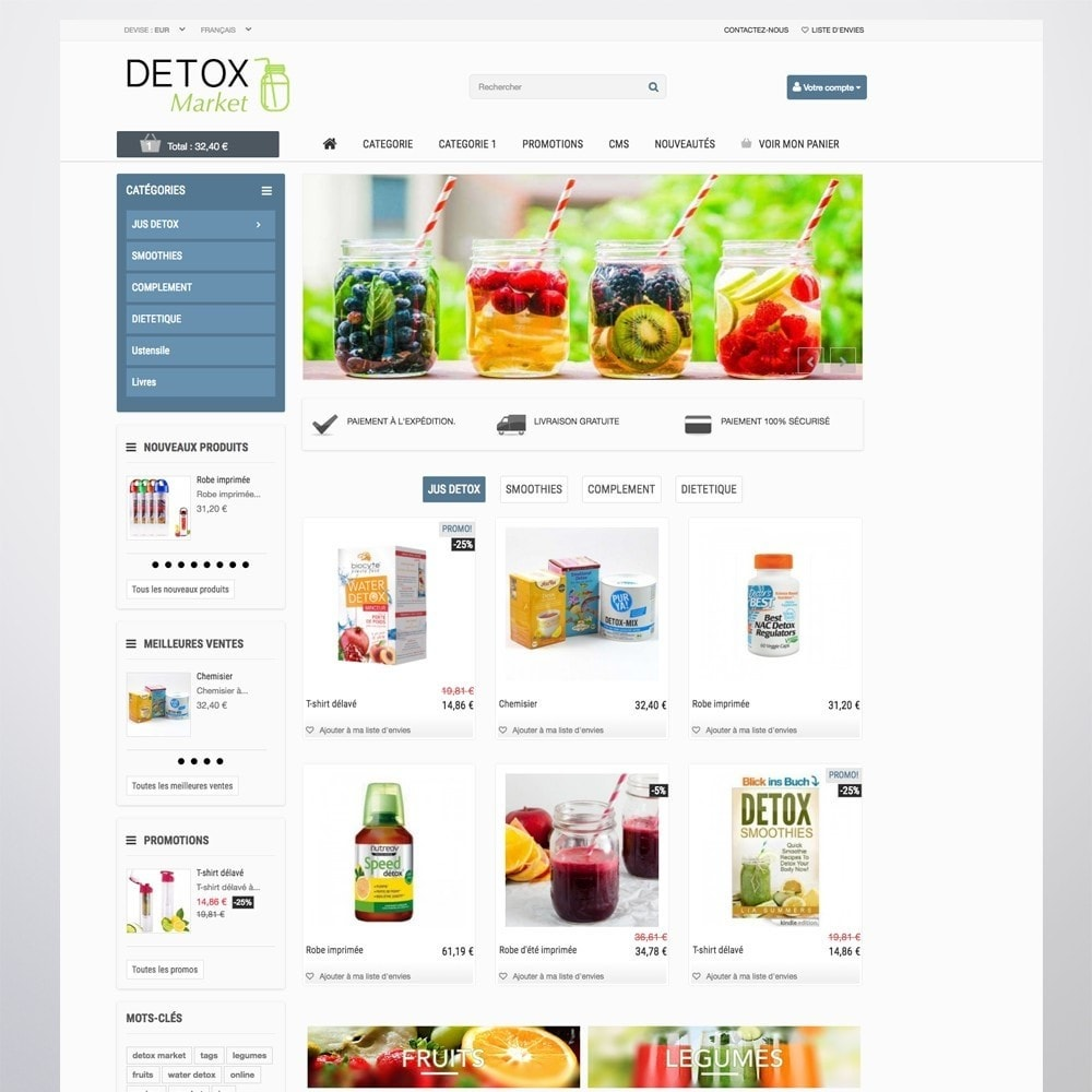 theme - Health & Beauty - Detox Market - 3