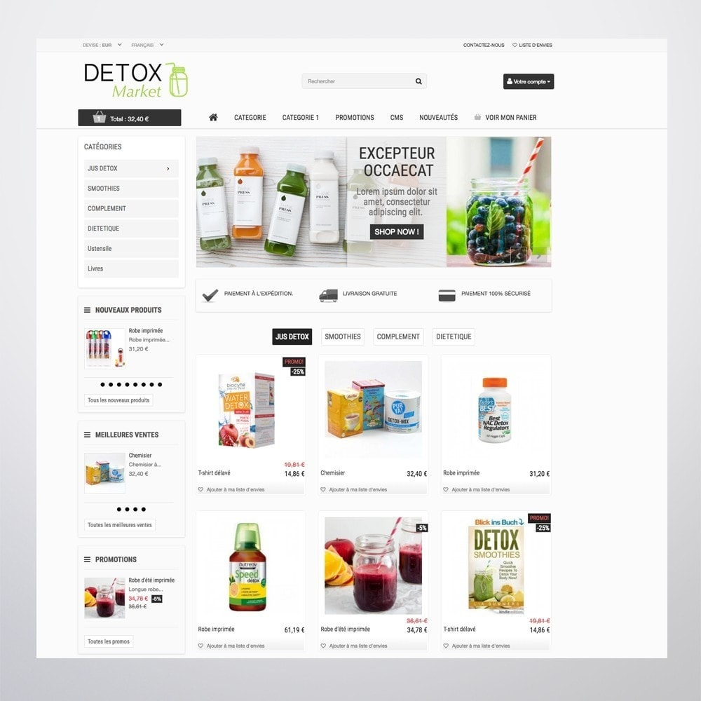 theme - Health & Beauty - Detox Market - 4