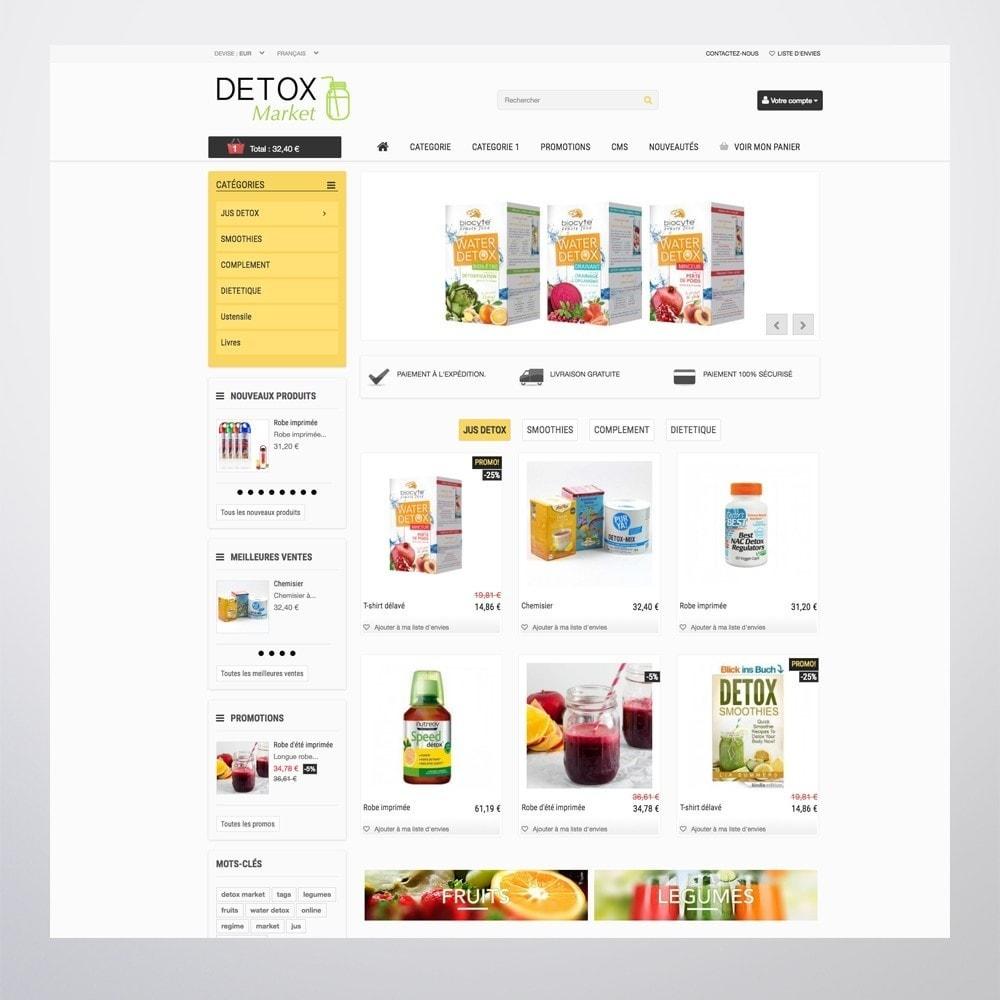 theme - Salute & Bellezza - Detox Market - 5