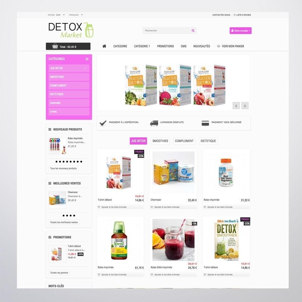 theme - Gezondheid & Schoonheid - Detox Market - 8