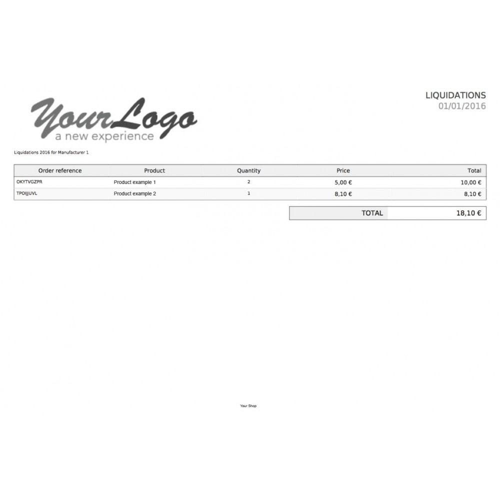 module - Otros métodos de pago - Gestión pagos de comisiones y royalties - 1