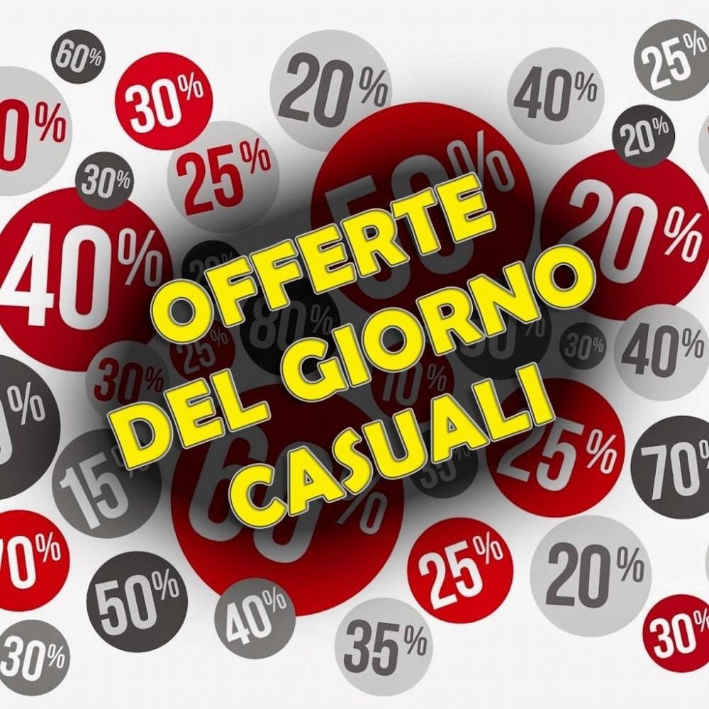 module - Flash & Private Sales - Offerte del Giorno Casuali - 1