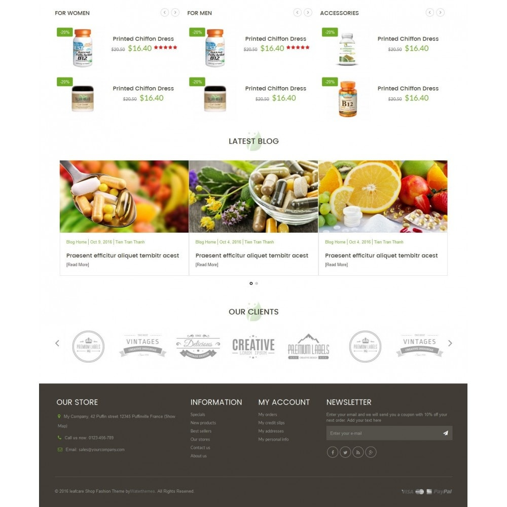 theme - Health & Beauty - LeafCare - Bio Medical Store - 4