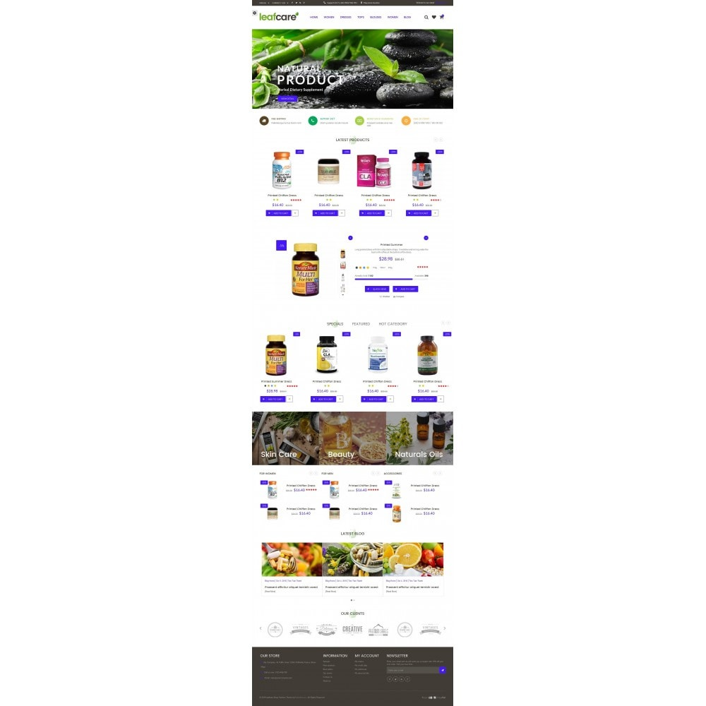 theme - Saúde & Beleza - LeafCare - Bio Medical Store - 6