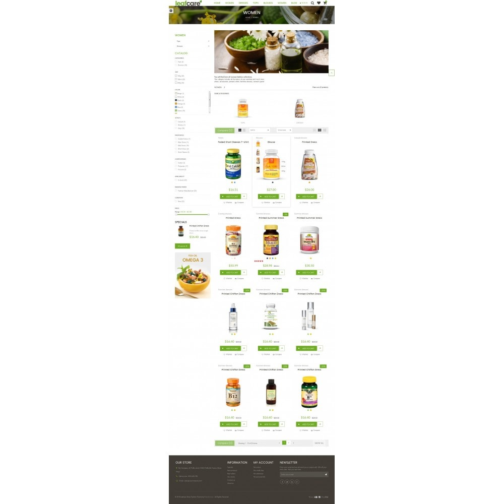 theme - Health & Beauty - LeafCare - Bio Medical Store - 7