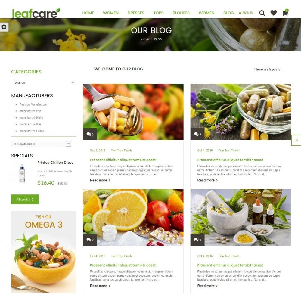 theme - Gesundheit & Schönheit - LeafCare - Bio Medical Store - 9