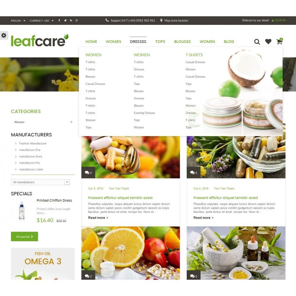 theme - Gesundheit & Schönheit - LeafCare - Bio Medical Store - 10