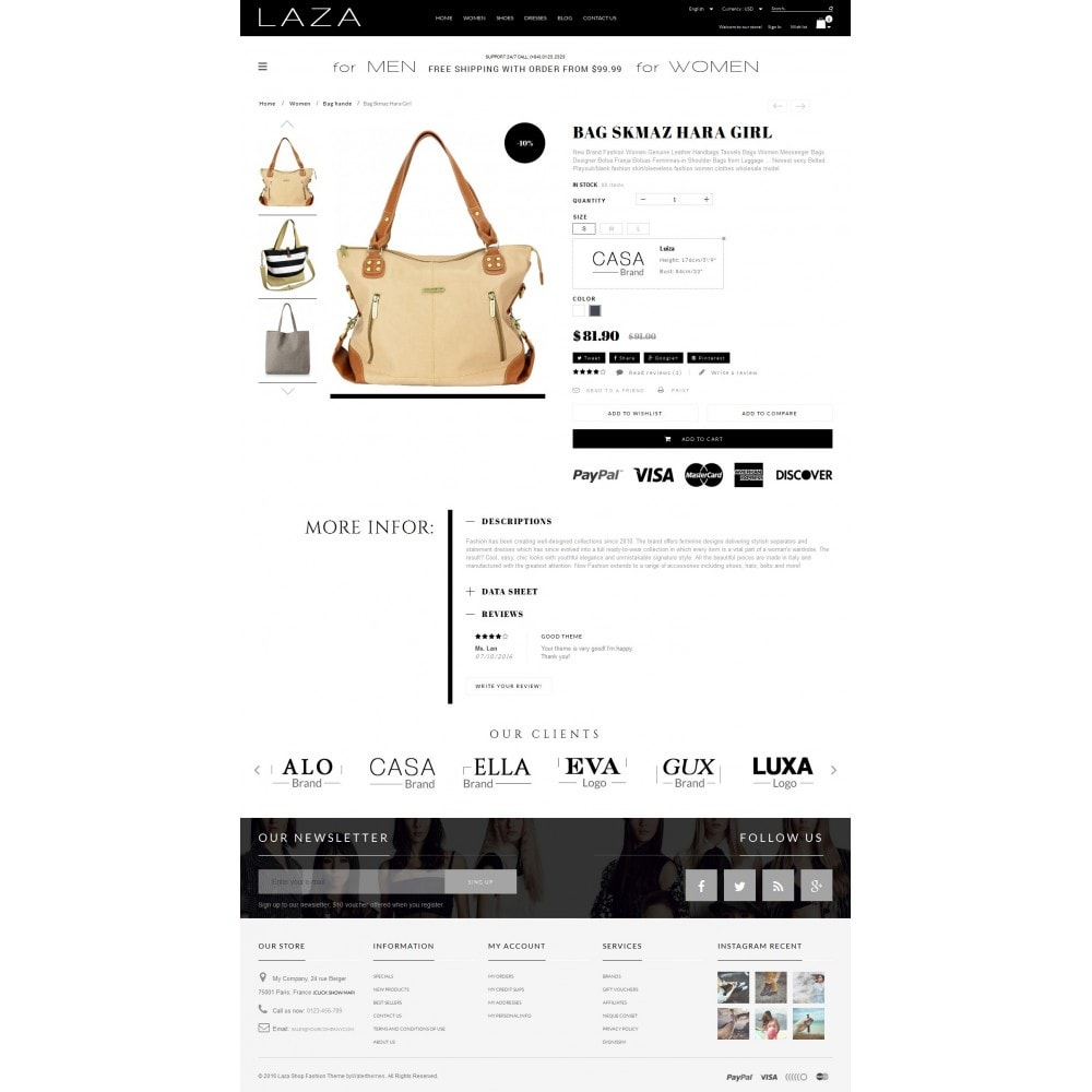 theme - Moda & Calzature - Laza Fashion Store - 4