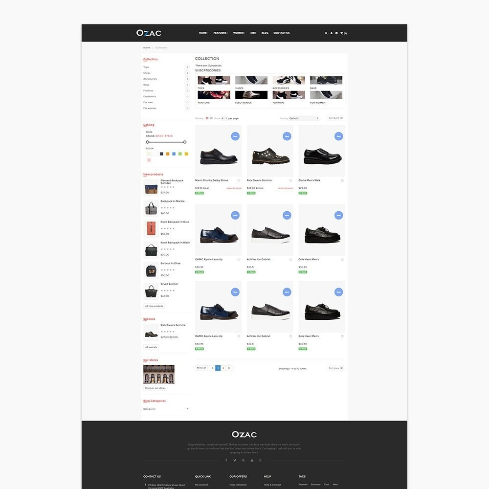theme - Fashion & Shoes - Leo Ozac - 3