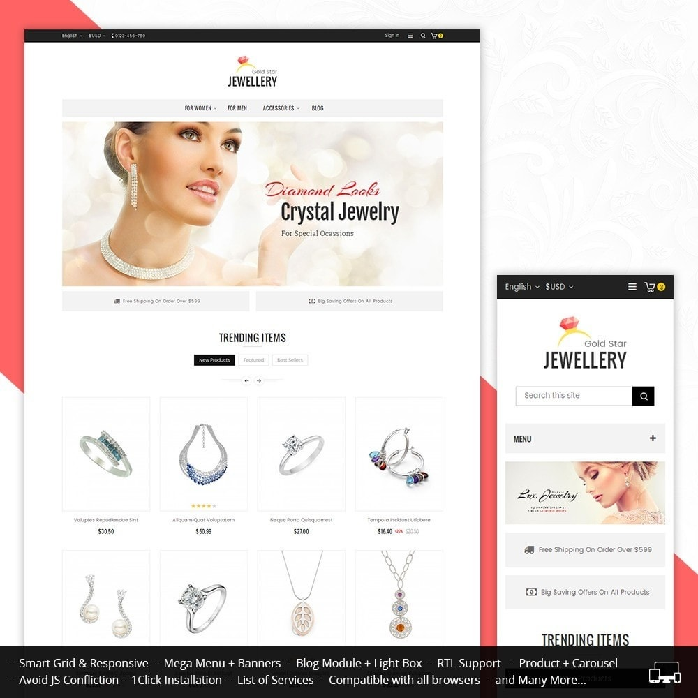 theme - Bellezza & Gioielli - Jewelry Store - 1
