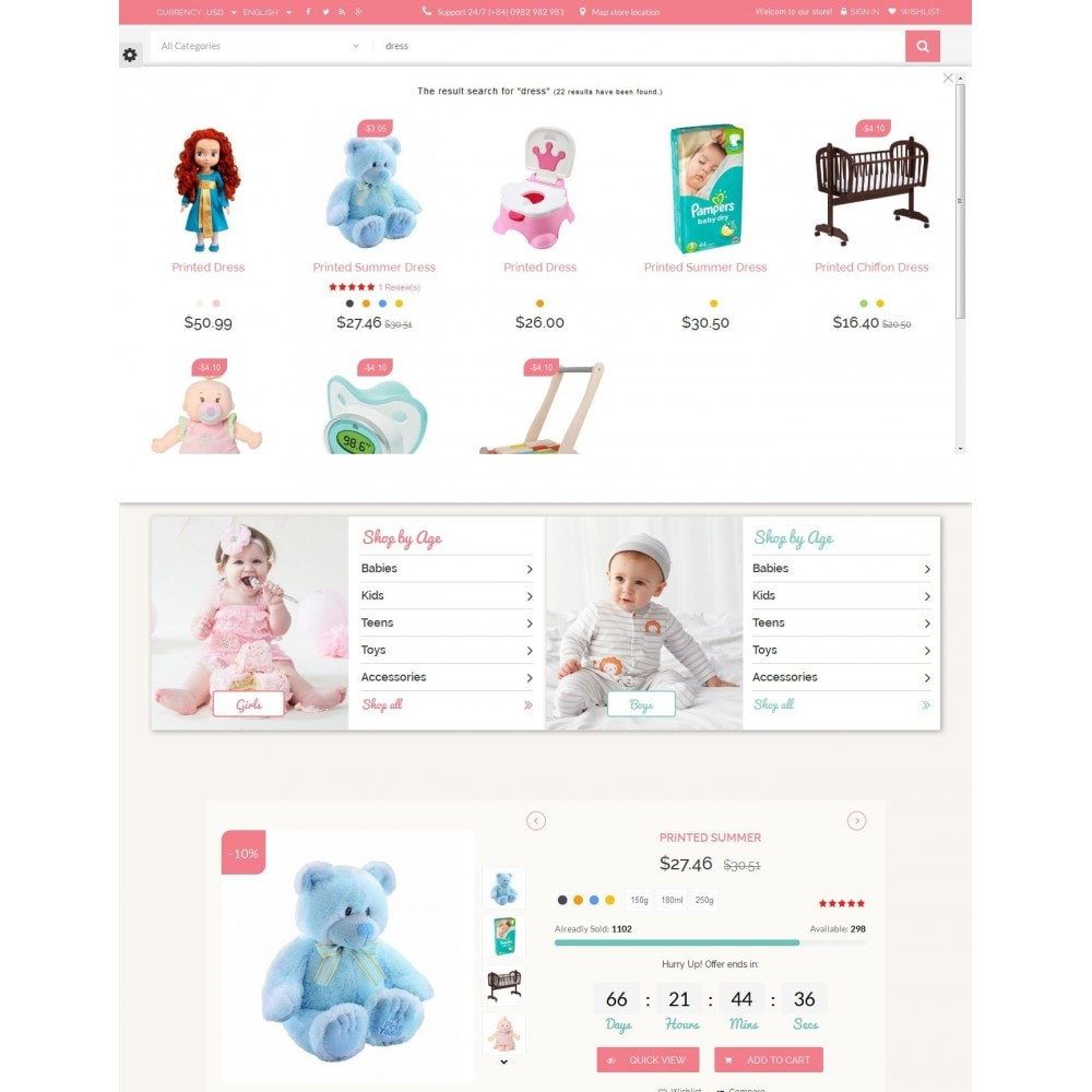 theme - Niños y Juguetes - Smart Baby And Kids Store - 9