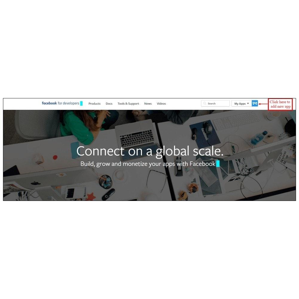 module - Produkten op Facebook & sociale netwerken - Webkul Social promotion of E-store - 5