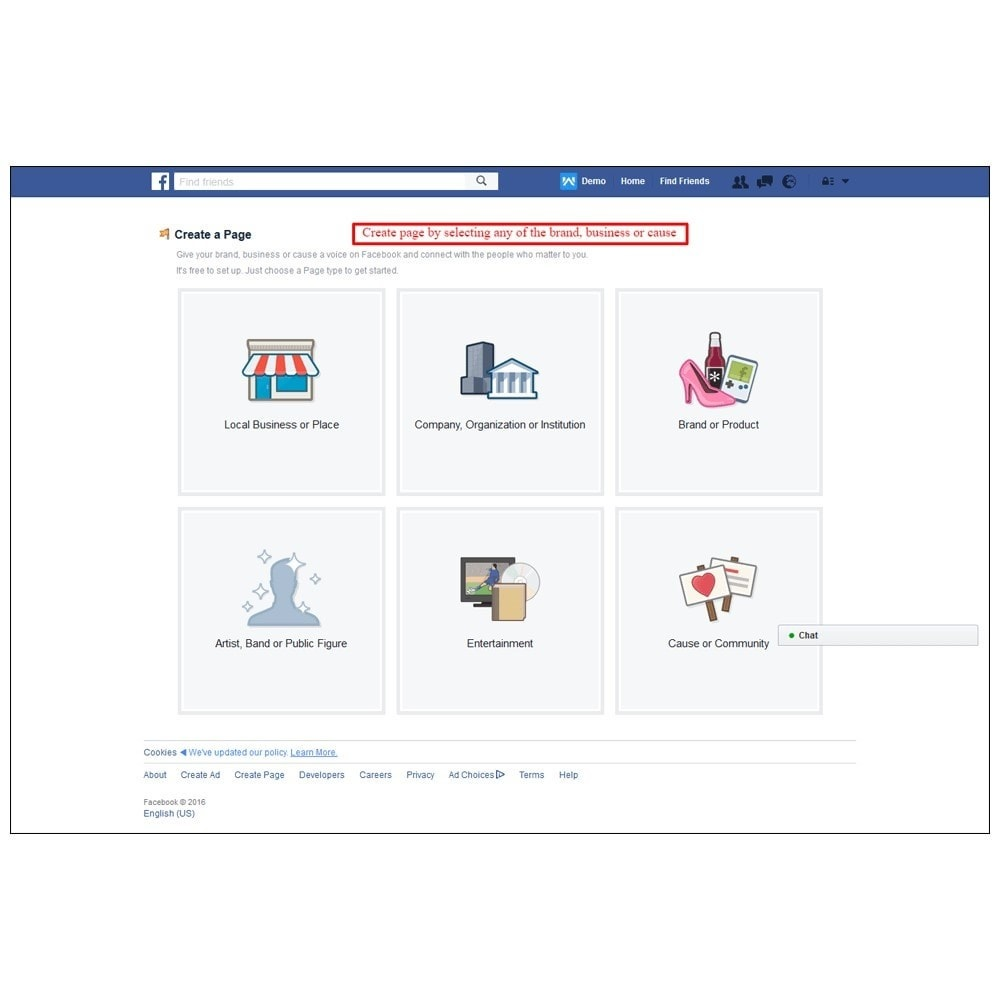 module - Products on Facebook & Social Networks - Webkul Social promotion of E-store - 16