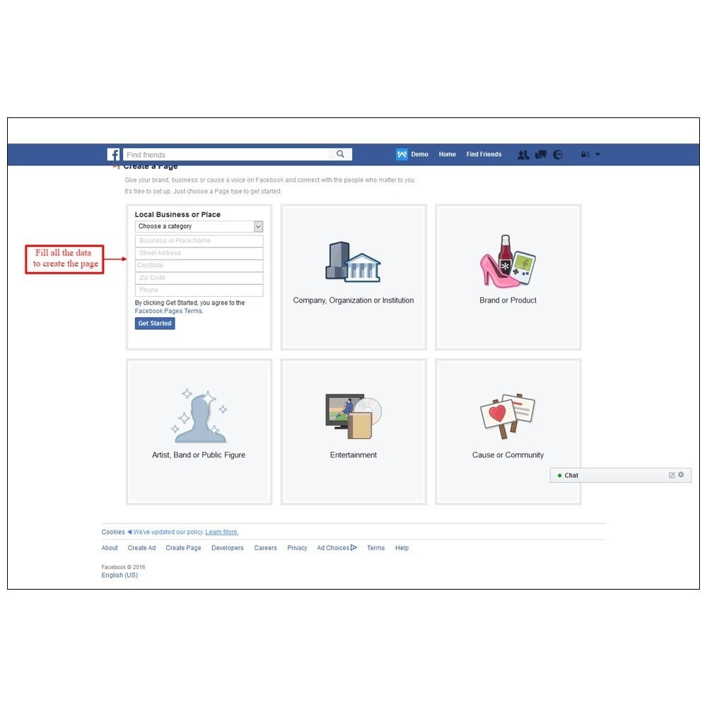 module - Products on Facebook & Social Networks - Webkul Social promotion of E-store - 17