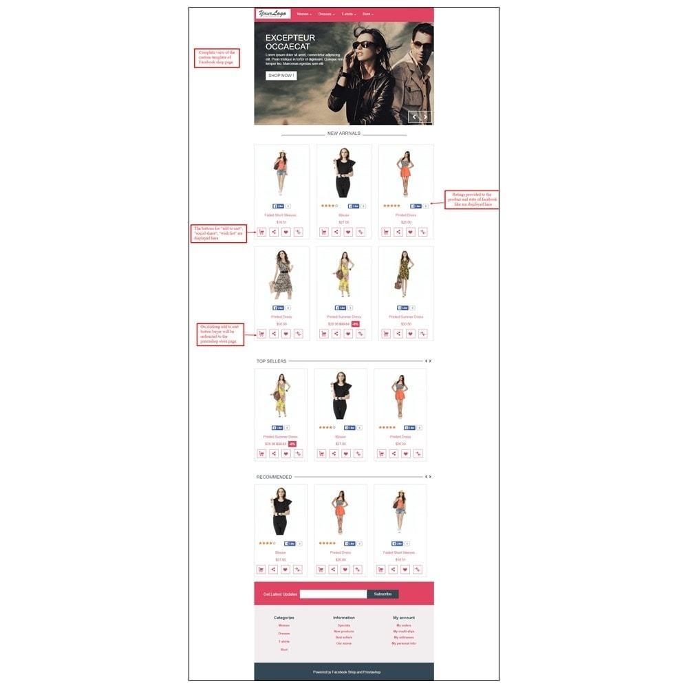 module - Produkten op Facebook & sociale netwerken - Webkul Social promotion of E-store - 23