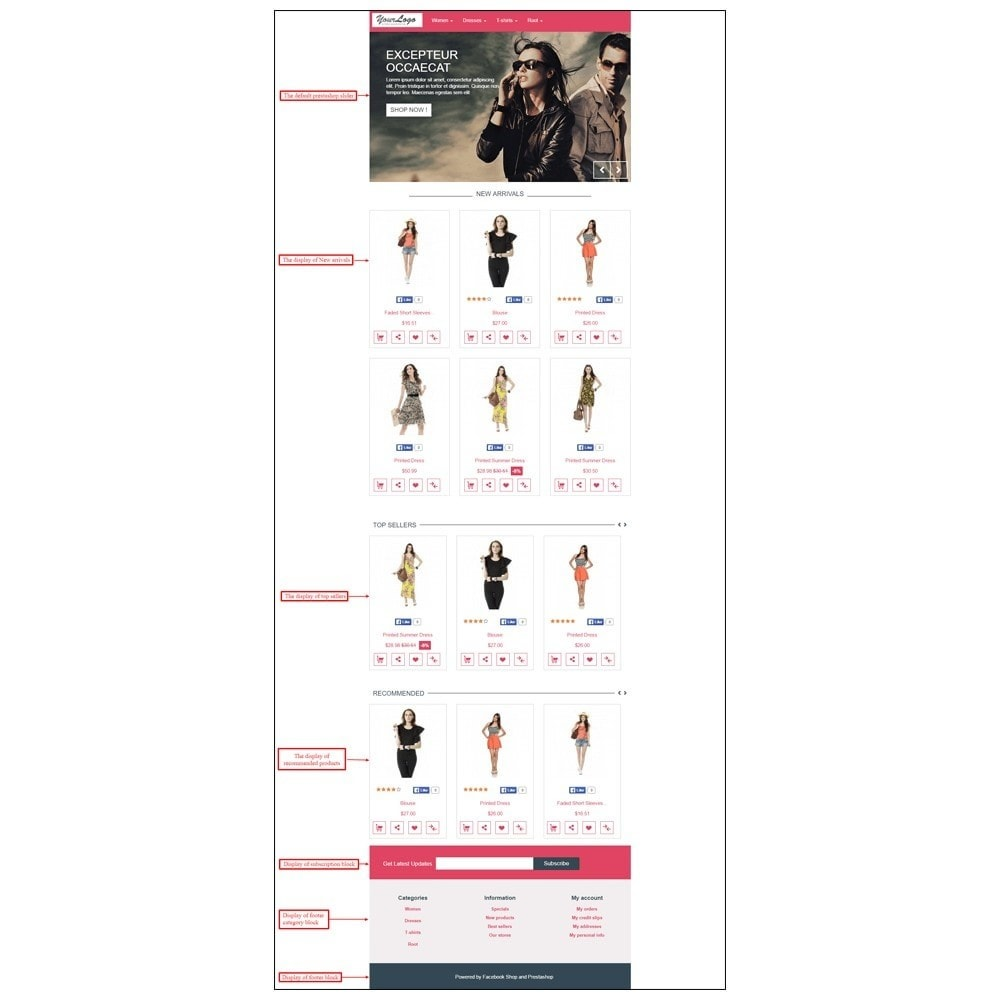 module - Products on Facebook & Social Networks - Webkul Fb Shop - Social promotion of E-store - 25