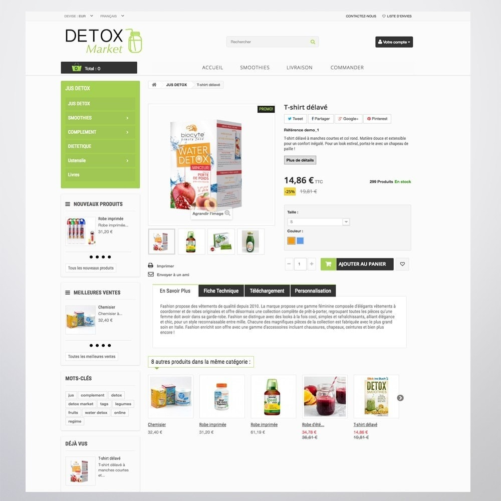 theme - Health & Beauty - Detox Market - 9