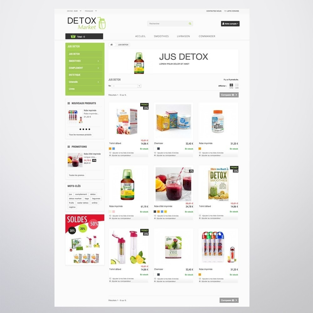 theme - Health & Beauty - Detox Market - 10