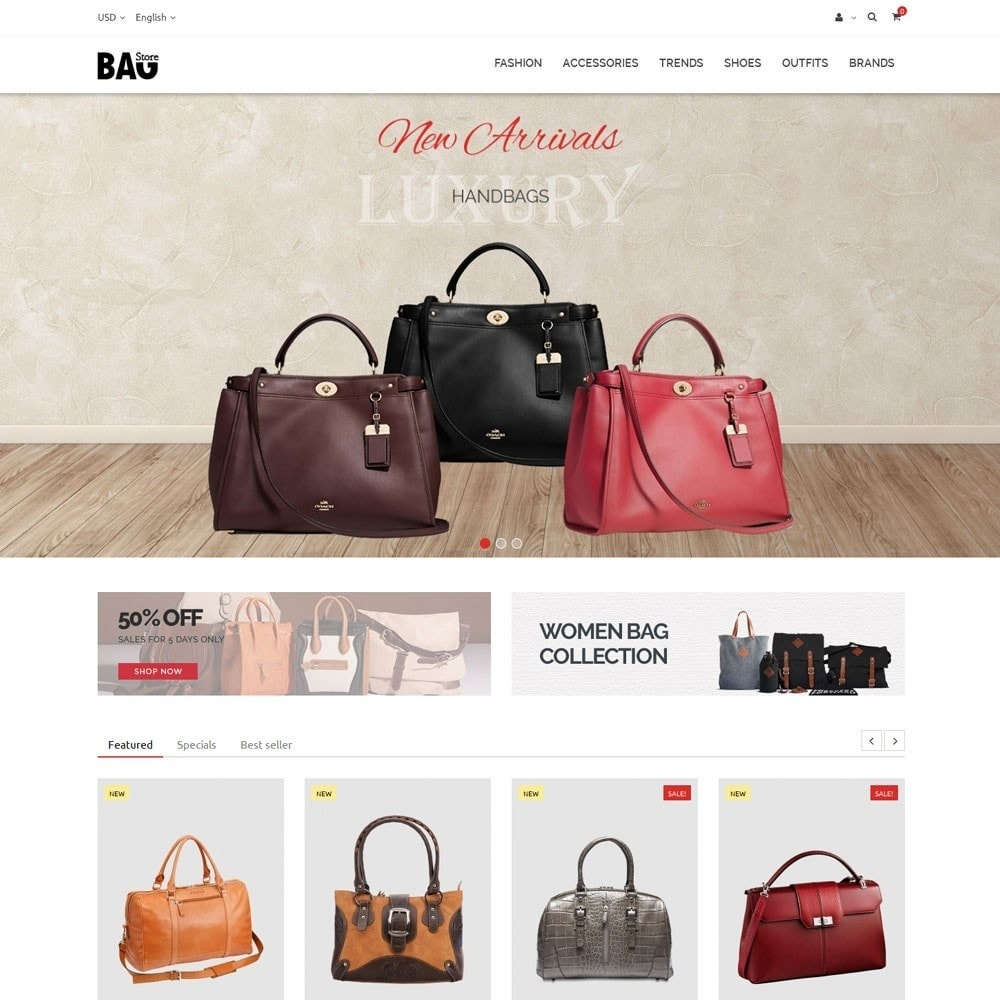 theme - Moda & Calzature - Bag Store - 2