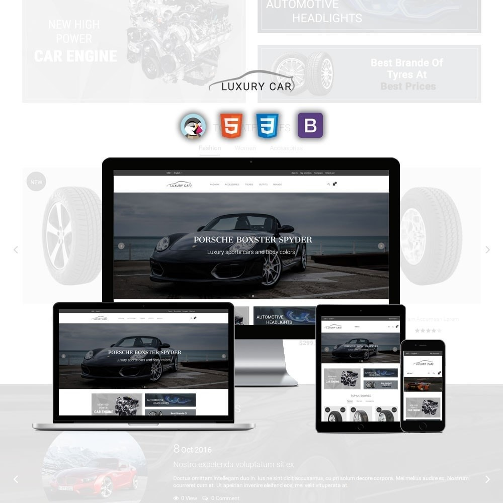 theme - Auto's & Motoren - Luxury Car Store - 1