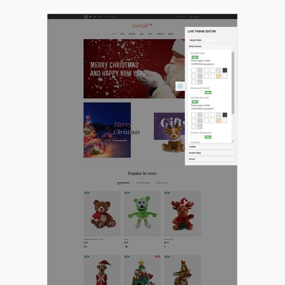 theme - Prezenty, Kwiaty & Uroczystości - Ap Santa Gift - 3