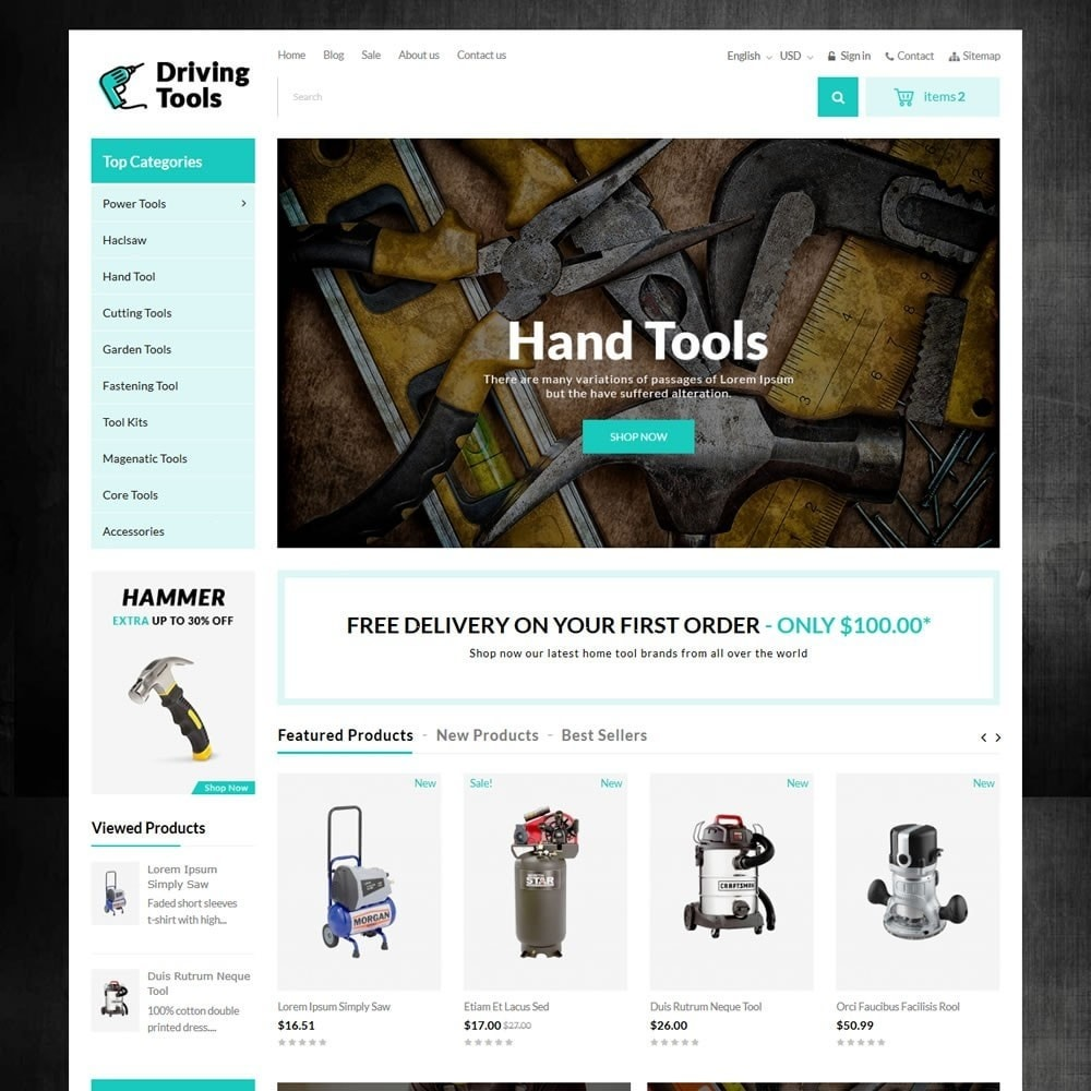 theme - Auto & Moto - Driving Tools Store - 2
