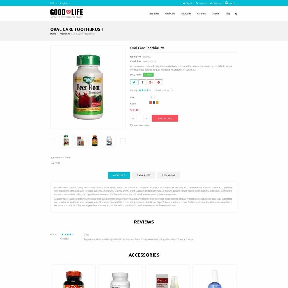 theme - Salud y Belleza - Good Life - Medical Store - 5