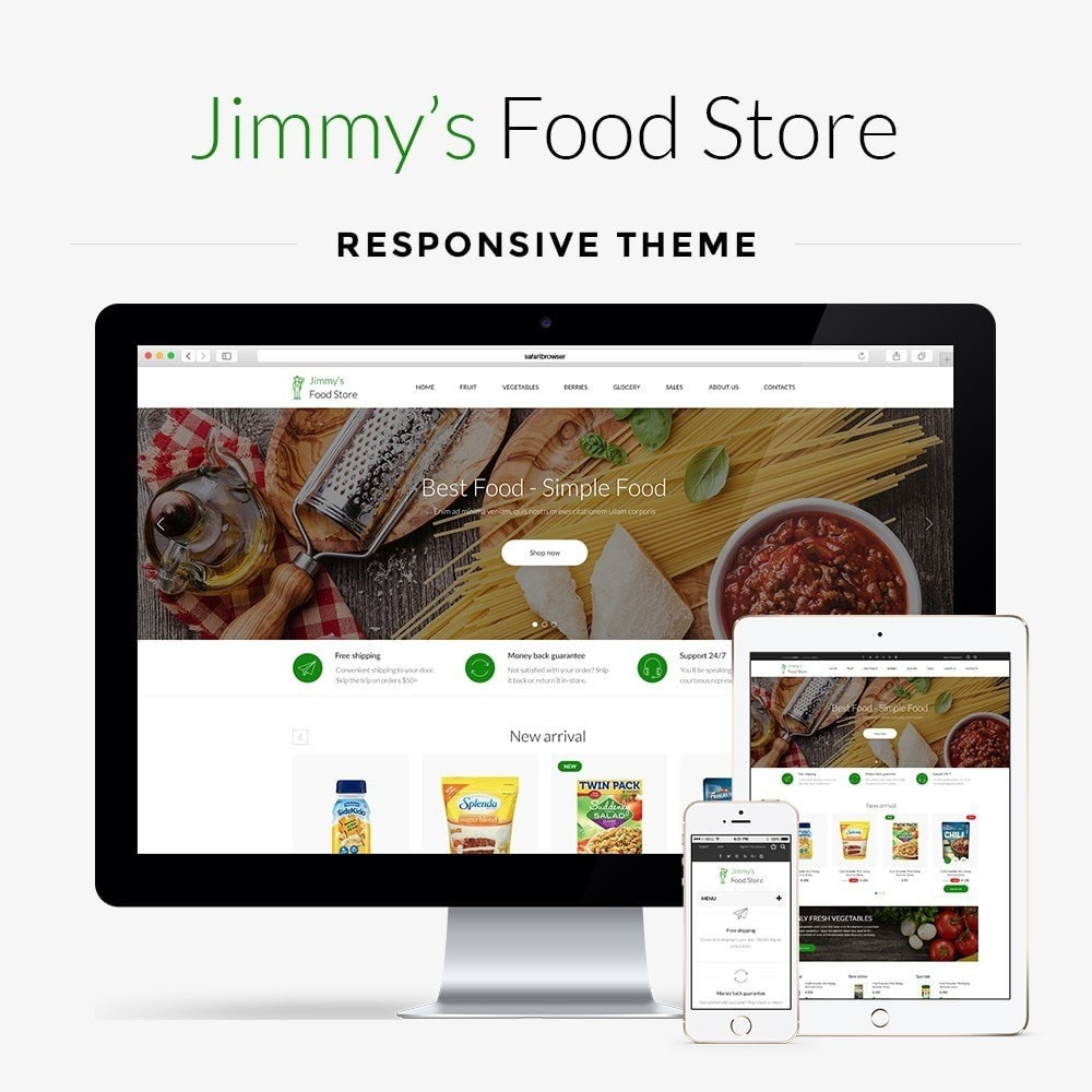 theme - Alimentation & Restauration - Jimmy's Food Store - 1