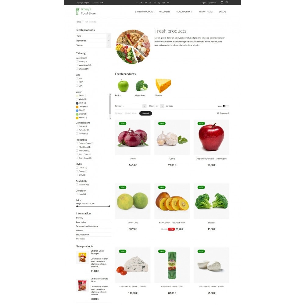 theme - Alimentation & Restauration - Jimmy's Food Store - 4