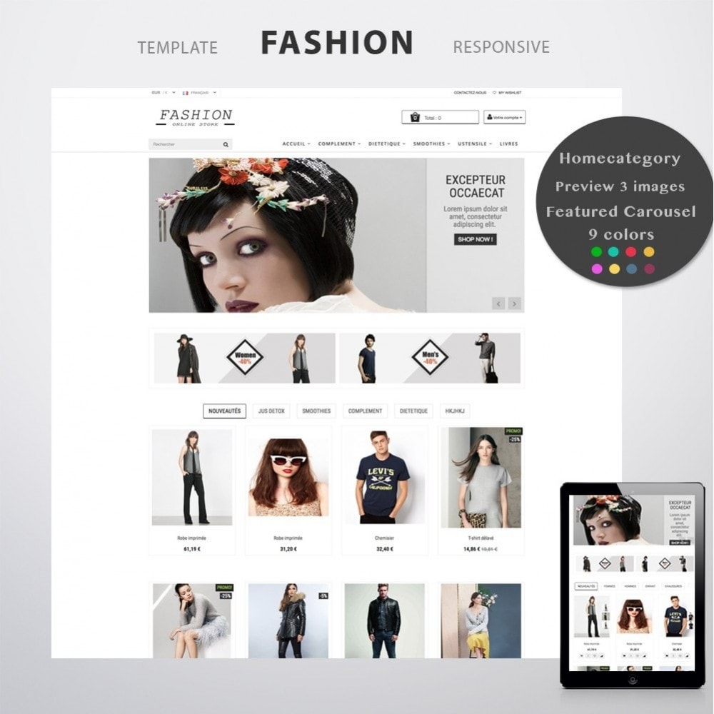 theme - Moda y Calzado - FASHION - 1