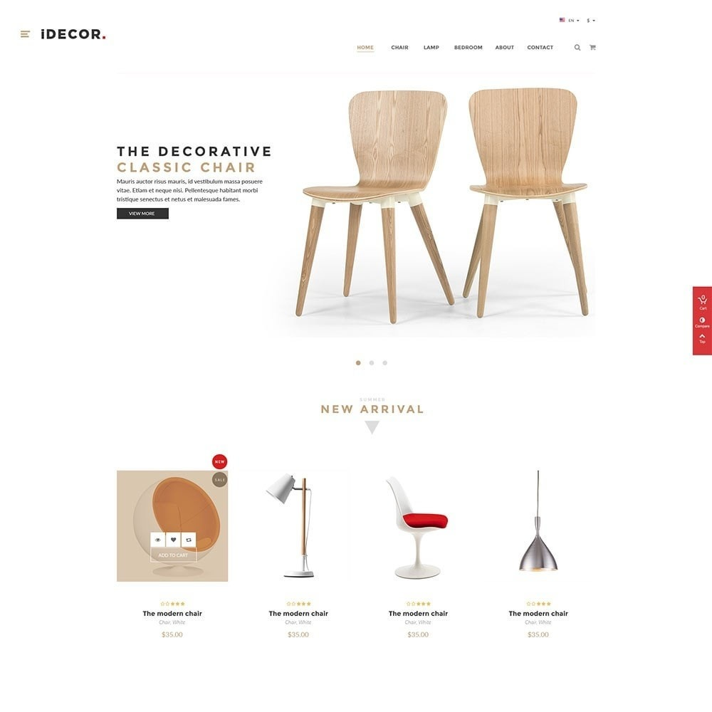 theme - Home & Garden - Idecor Furniture - 2