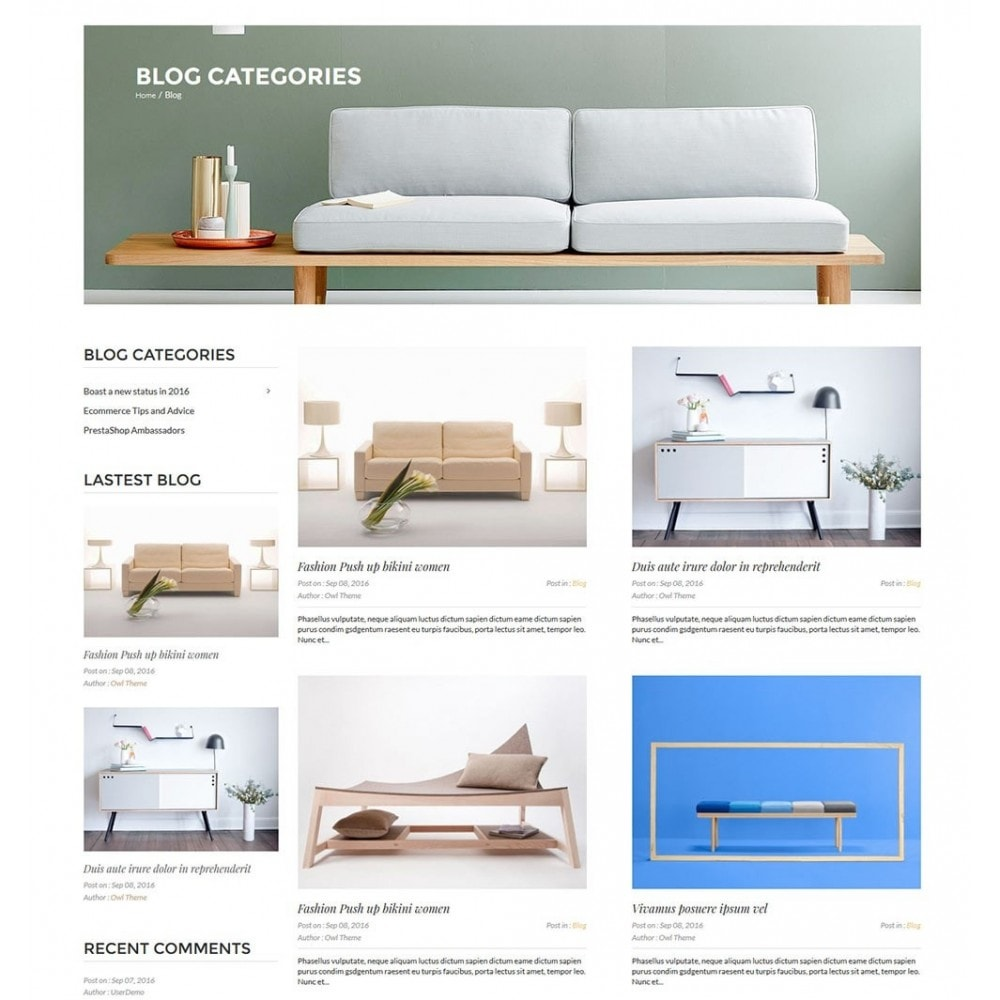 theme - Home & Garden - Idecor Furniture - 7