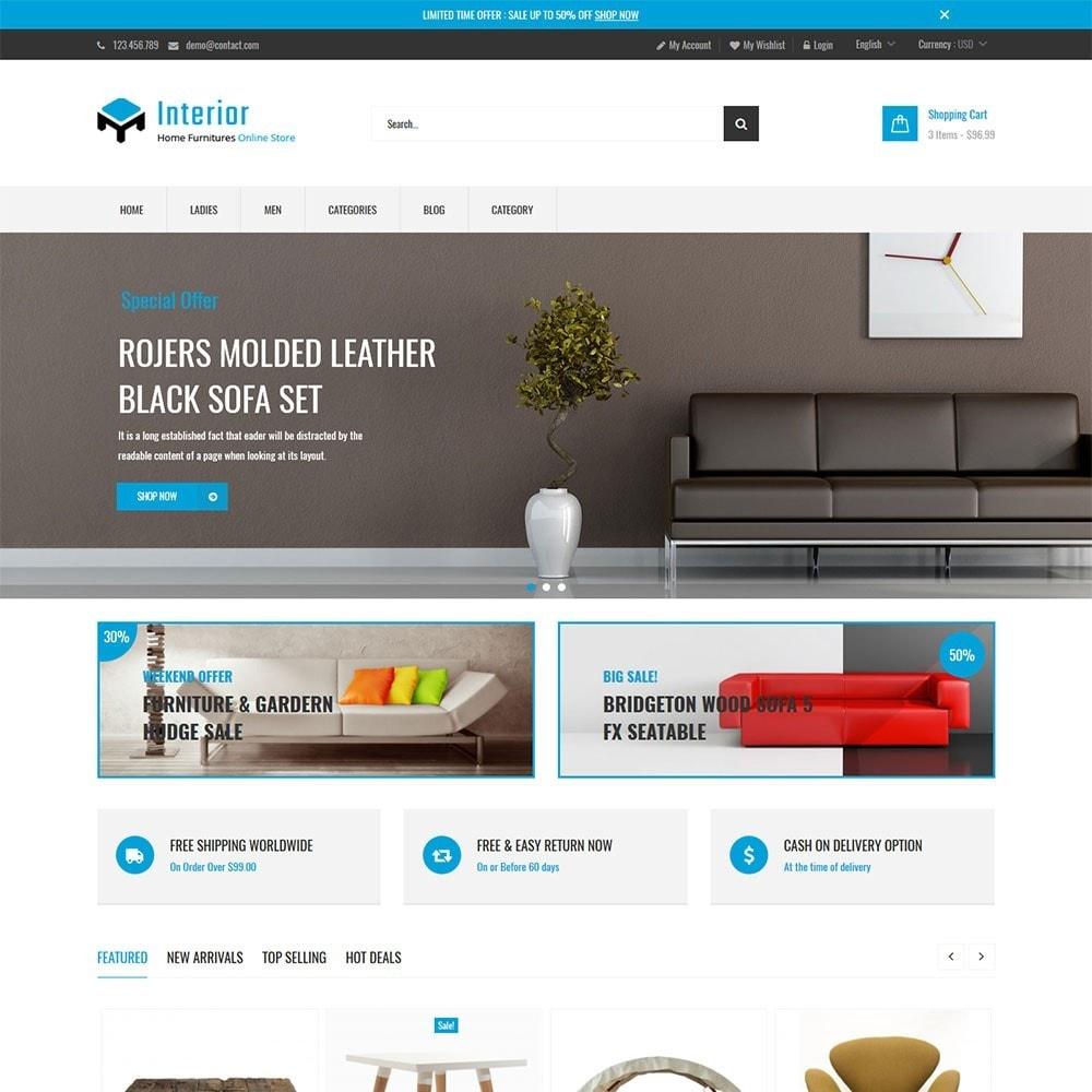 theme - Casa & Jardins - Interior Home Store - 5