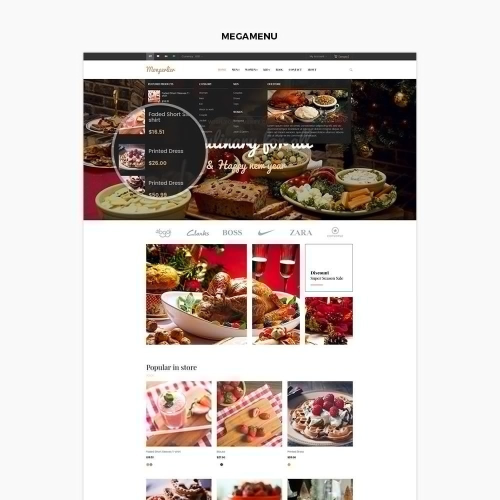 theme - Food & Restaurant - Ap Clause - 2