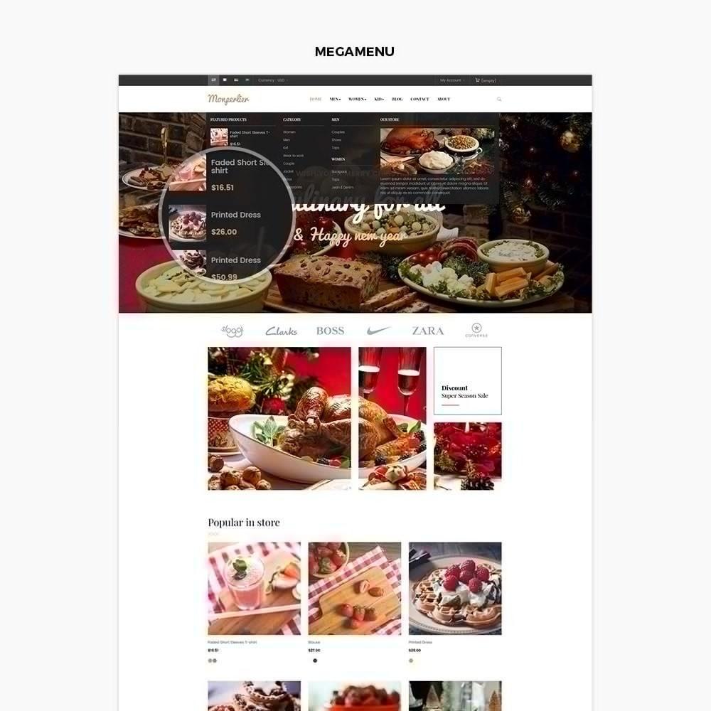 theme - Lebensmittel & Restaurants - Ap Clause - 2