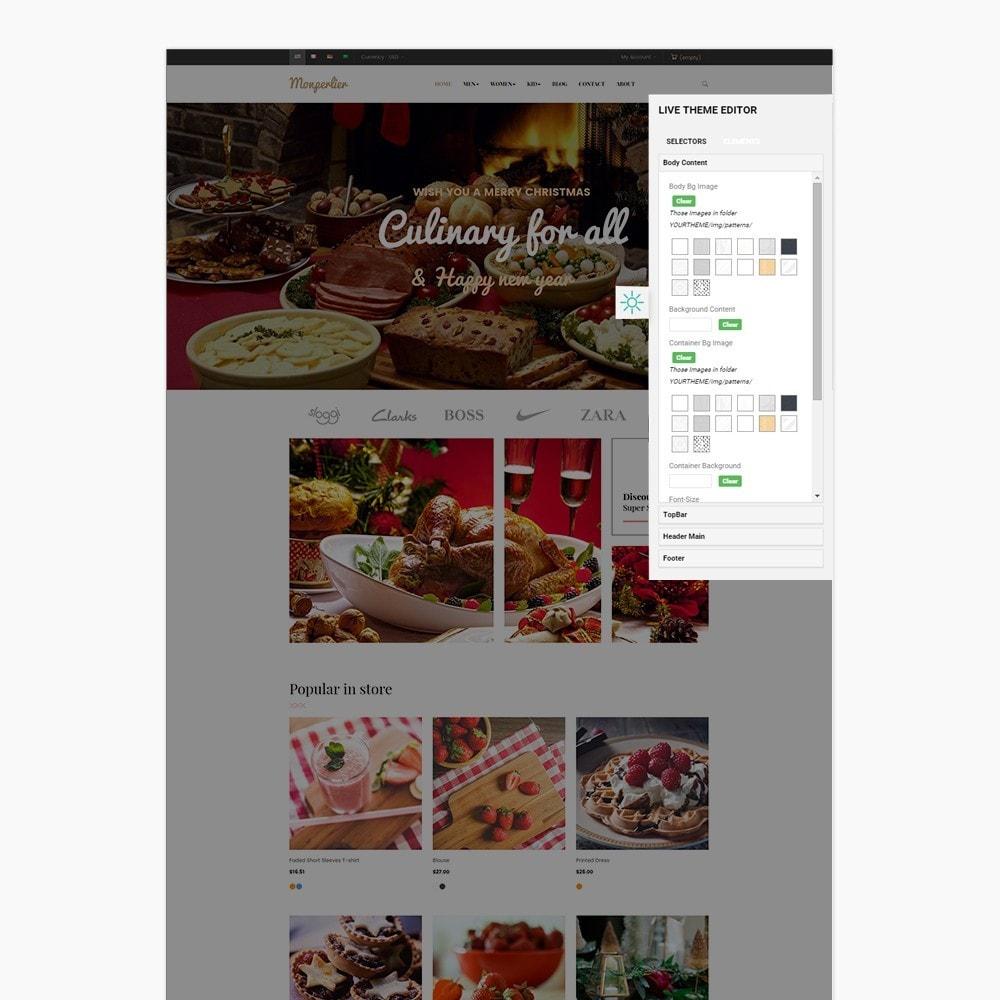 theme - Lebensmittel & Restaurants - Ap Clause - 3
