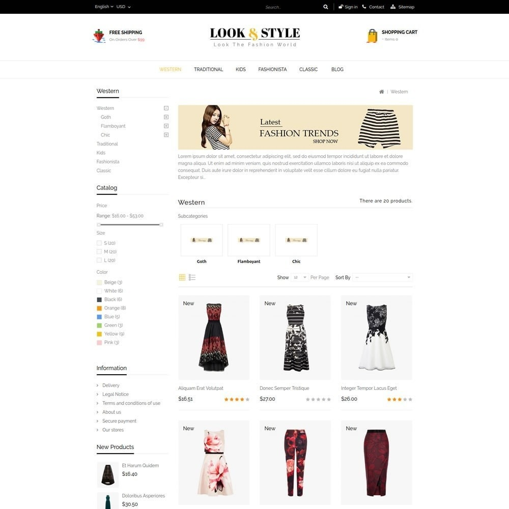 theme - Moda & Calçados - Look & Style - Fashion Store - 3