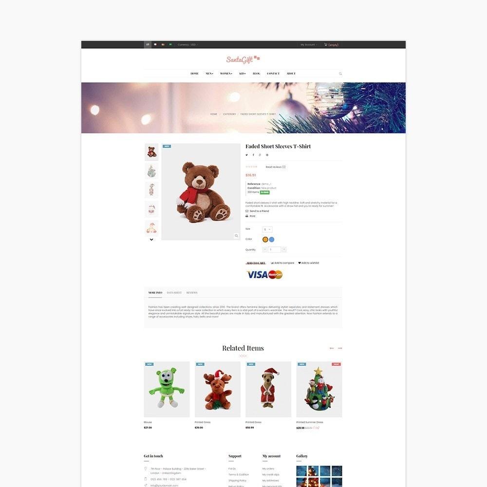 theme - Prezenty, Kwiaty & Uroczystości - Ap Santa Gift - 6