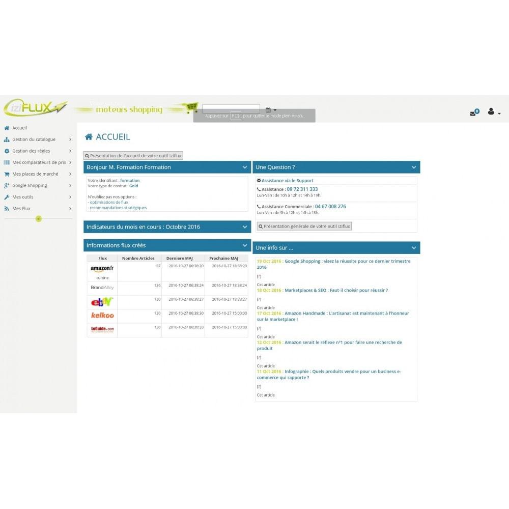 module - Marketplaces - IziFlux - 2