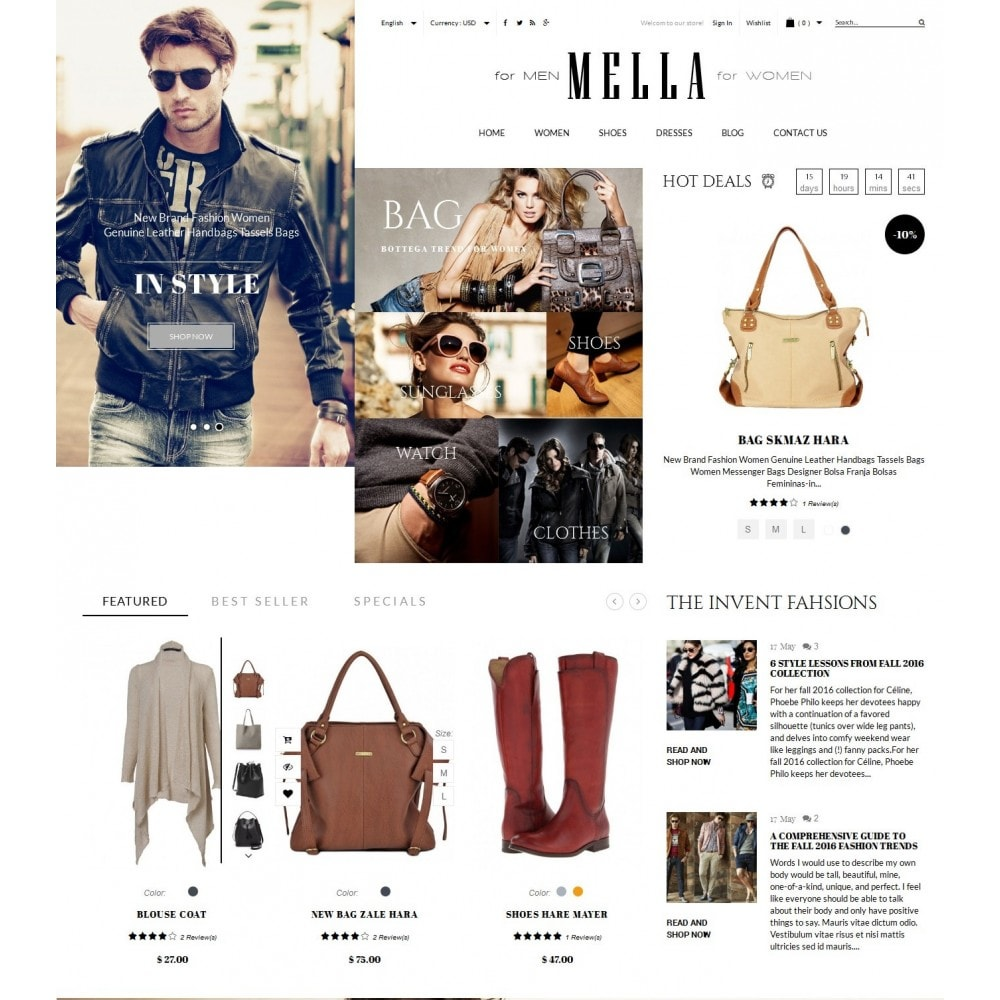 theme - Mode & Schuhe - Mella Fashion Store - 2