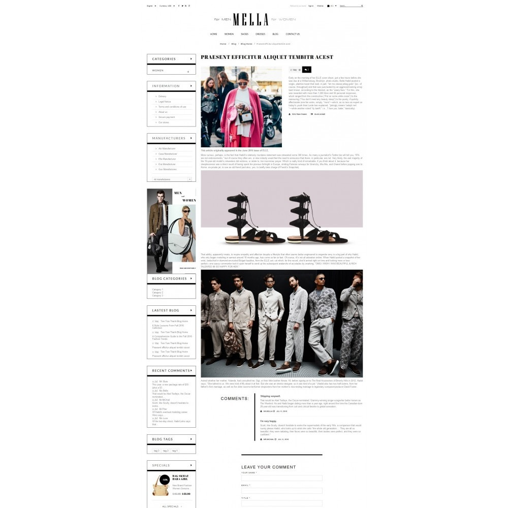 theme - Mode & Schuhe - Mella Fashion Store - 7