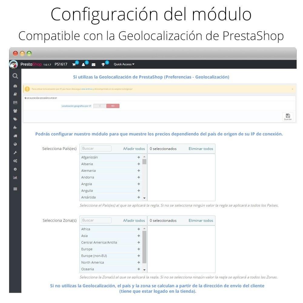 module - Promociones y Regalos - Incremento/Descuento de precio por grupo, categoría... - 5