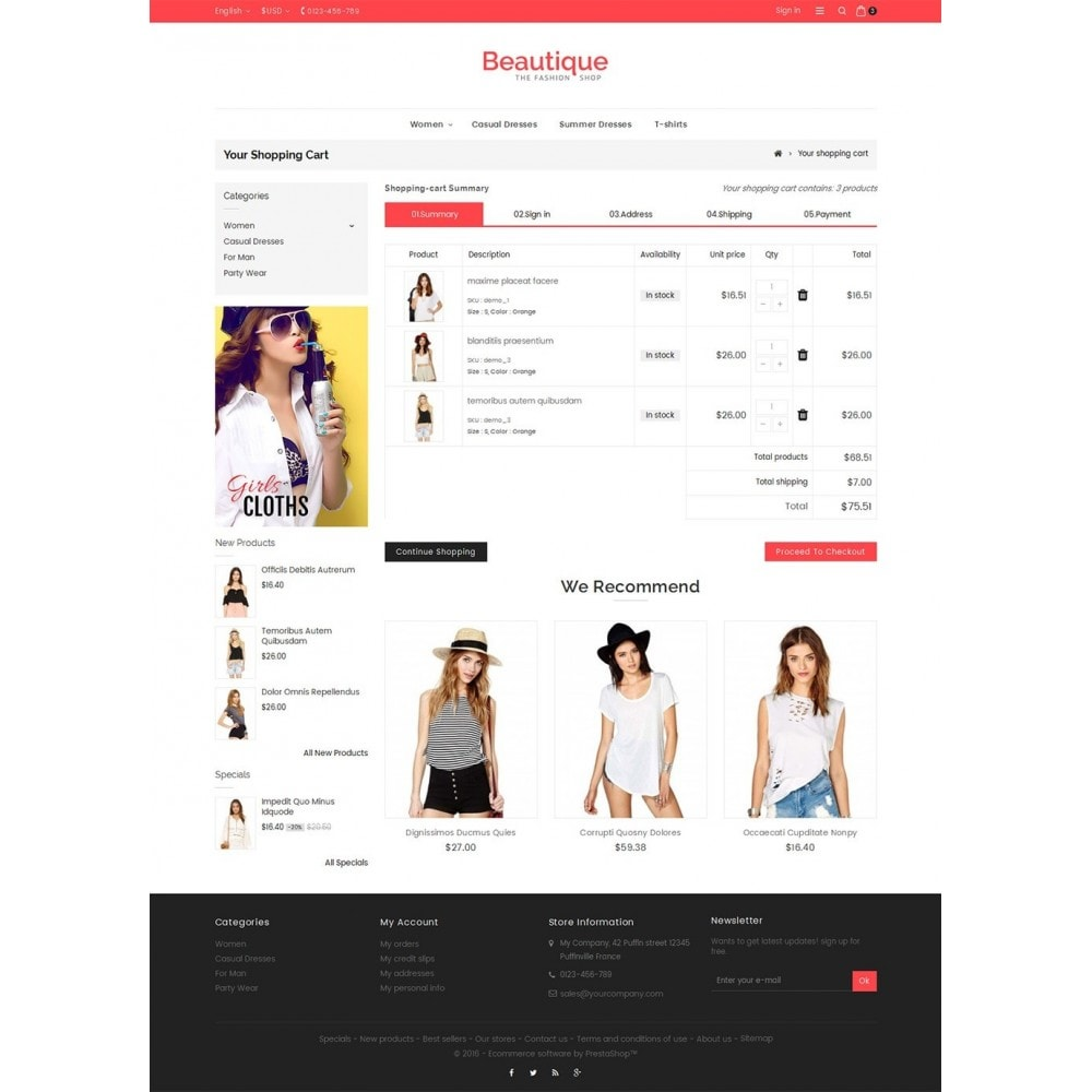 theme - Moda y Calzado - Beautique Fashion Store - 6